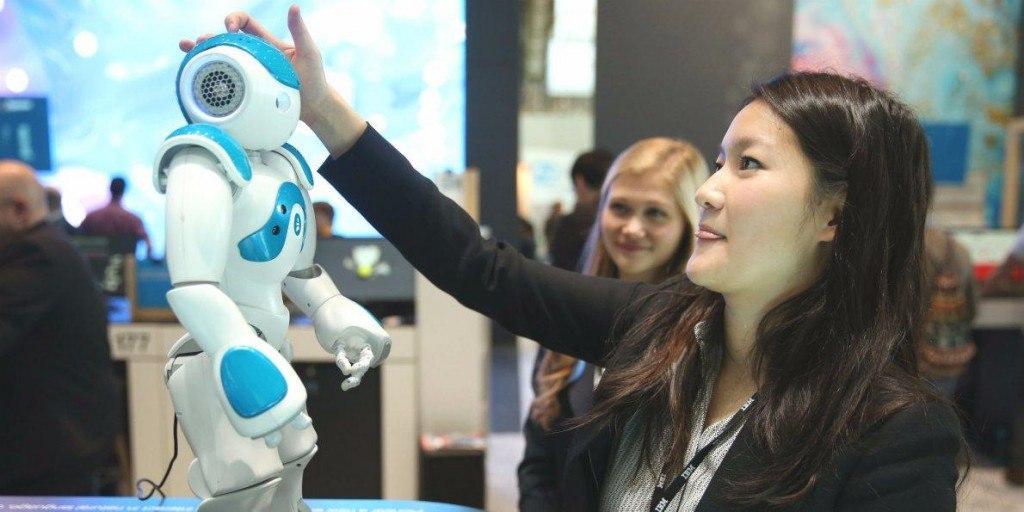 Выставка роботов и инновационных технологий