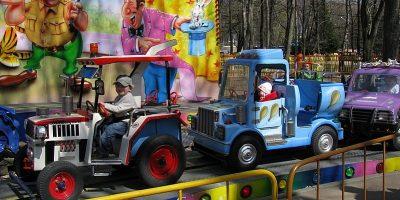 Детская площадка в Автозаводском парке
