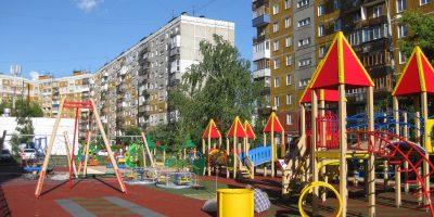 Детская площадка в микрорайоне Гордеевский