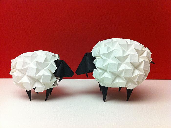 Оригами в Циферблате