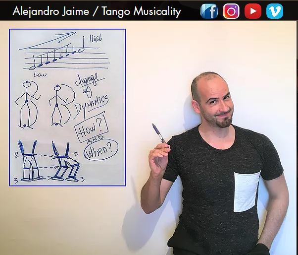 Уроки танго и милонга с Alejandro Jaime