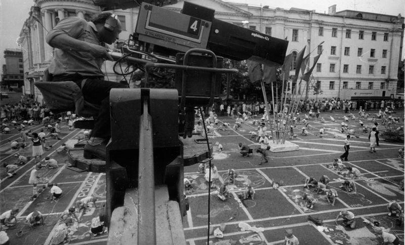Выставка 60 мгновений истории Горьковского телевидения