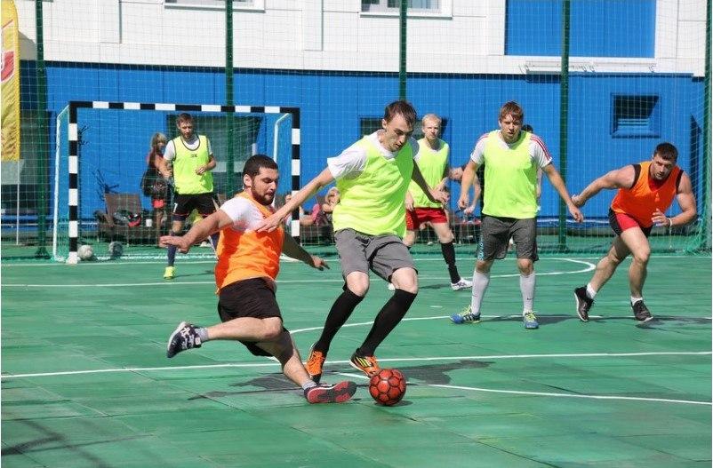 Летний турнир по мини-футболу в Gold's Fitness