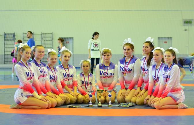 Первый отбор в  Черлидинговый клуб «Волга»