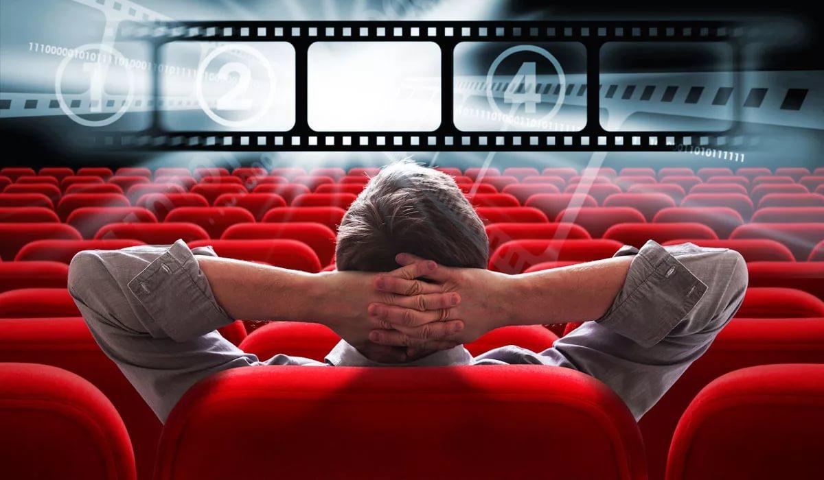 Бесплатный кинотеатр на площади Маркина