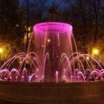 Фонтан в сквере площади Минина и Пожарского
