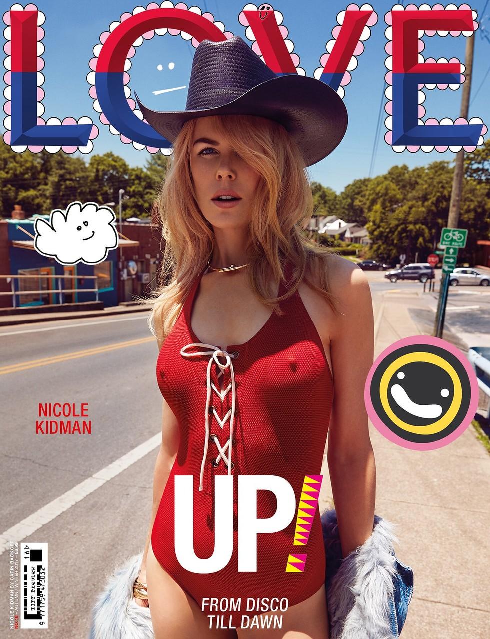 Nicole Kidman на самых свежих фотографиях (Love Magazine, осень-зима, 2017-2018
