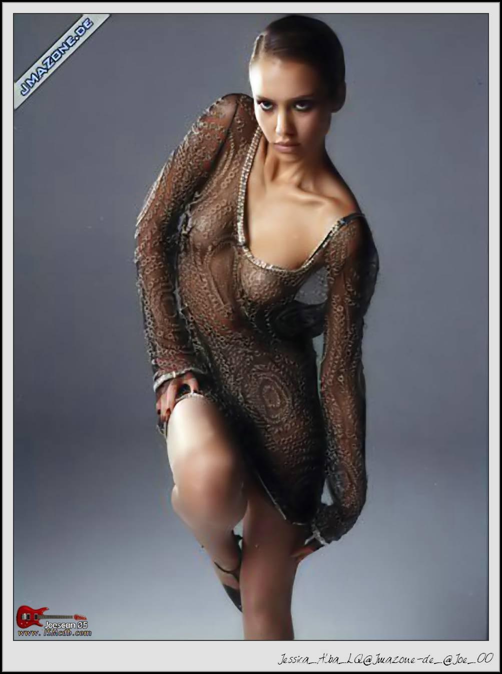 alba shoot Jessica naked photo