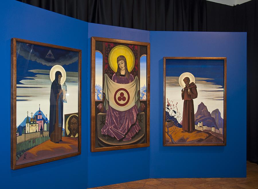 Выставка ПЕРМСКИЙ ИКОНОСТАС НИКОЛАЯ РЕРИХА