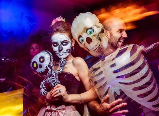 Костюмированная Zumba вечеринка на Halloween!