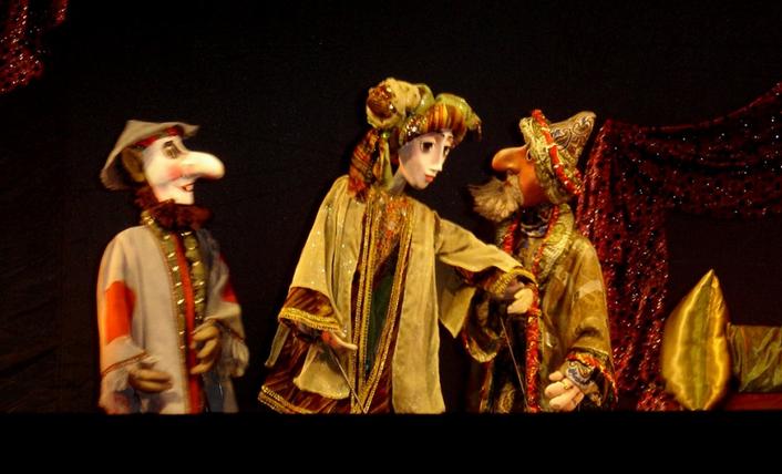 Кукольный спектакль Сказка странствующего факира