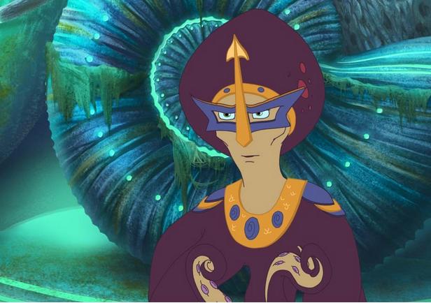 Мультфильм  Три богатыря и морской царь