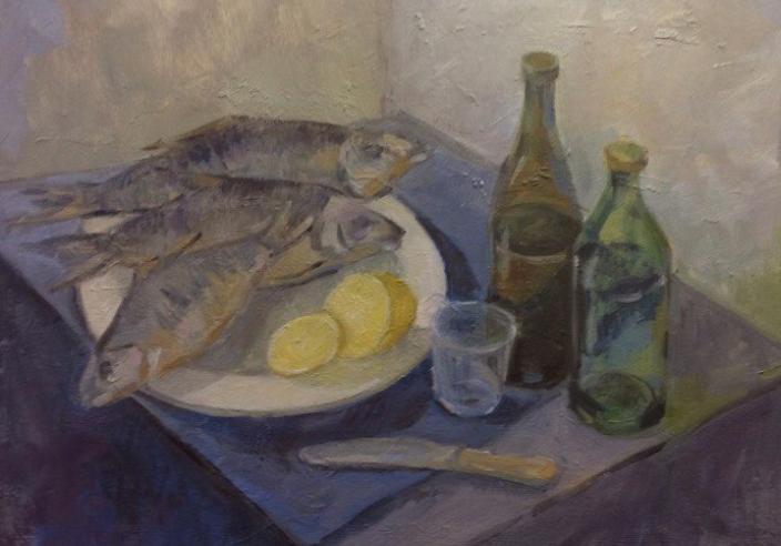 Выставка трех молодых нижегородских художников