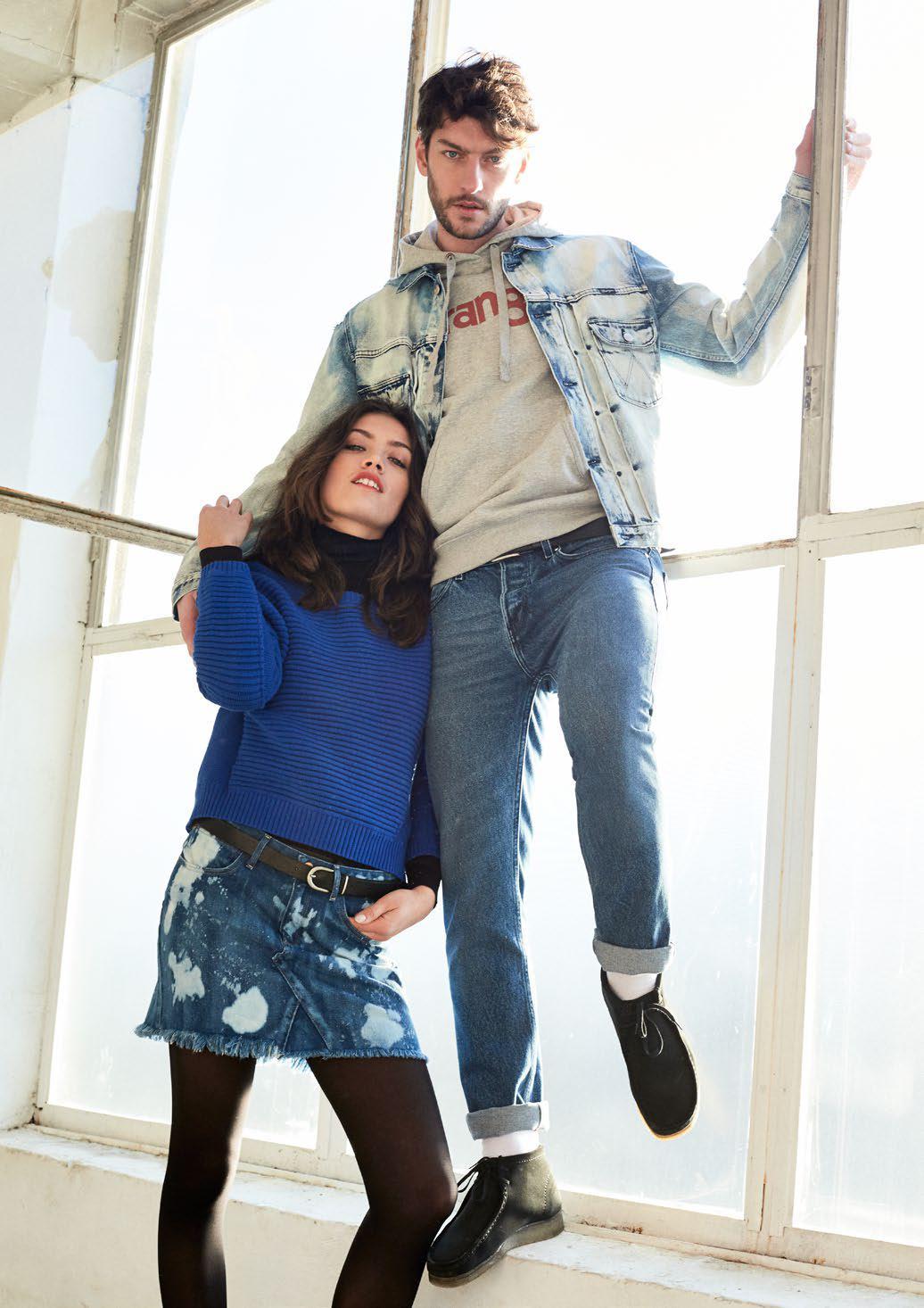 Сеть магазинов Настоящие Джинсы приглашает приобрести новую коллекцию джинсов, курток, трикотажа Wrangler,Lee, Westland.