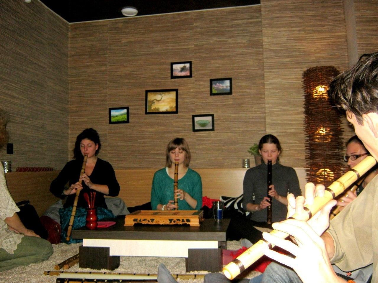 Мастер-класс Бамбуковые флейты