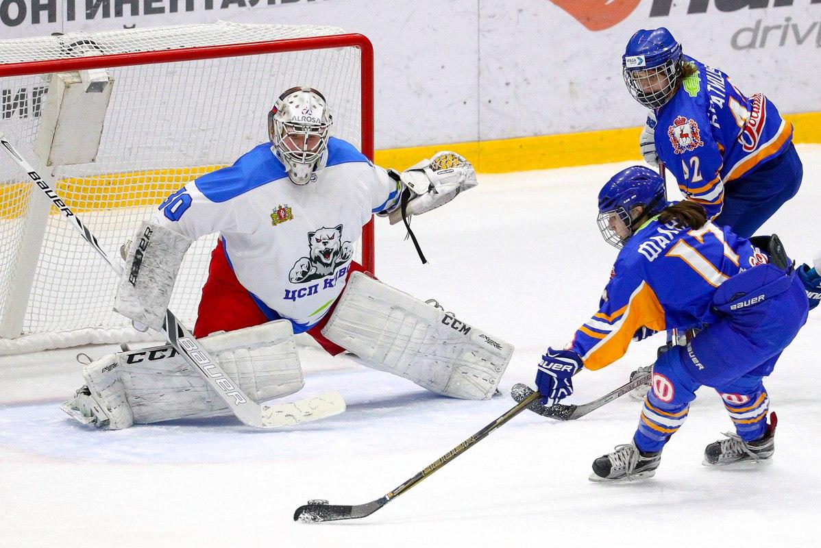 Домашняя серия игр ЖХК СКИФ против СК Свердловской области