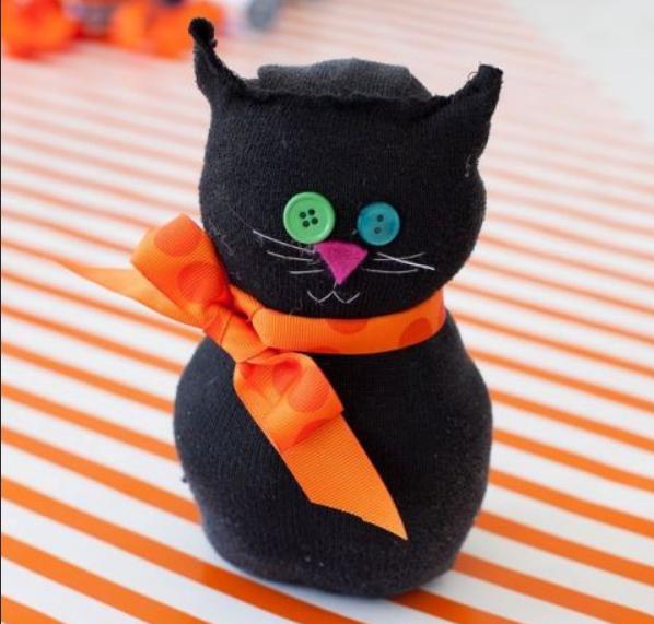 Мастер-класс Черный котенок