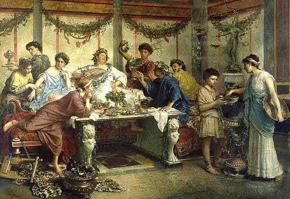 Римский вечер в ресторане «ЯР»