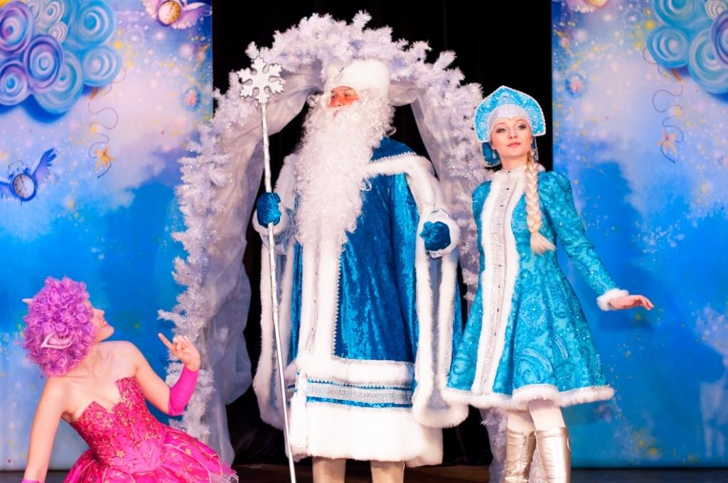 Новогодний спектакль Старая, старая сказка