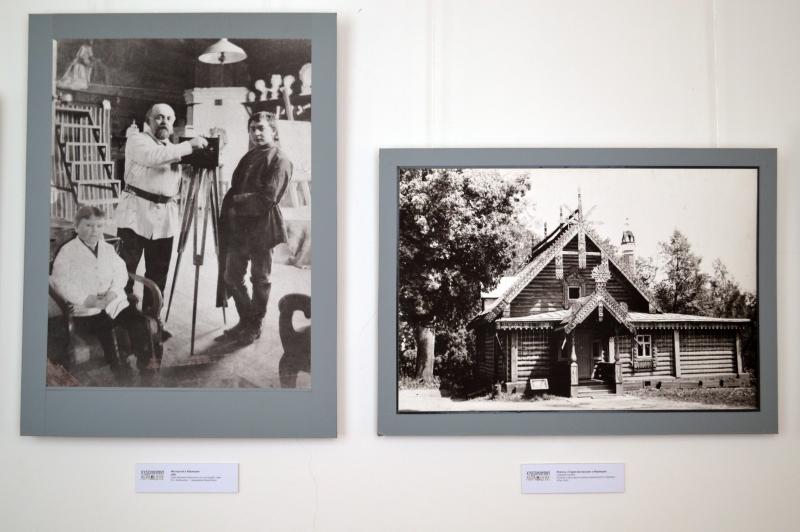 Выставка фотоматериалов Скромная подмосковная усадьба «Абрамцево»