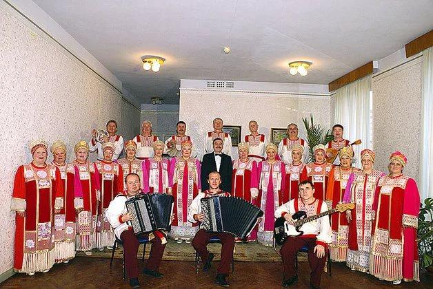 юбилейный концерт народного ансамбля песни и танца имени А.П.Леванова