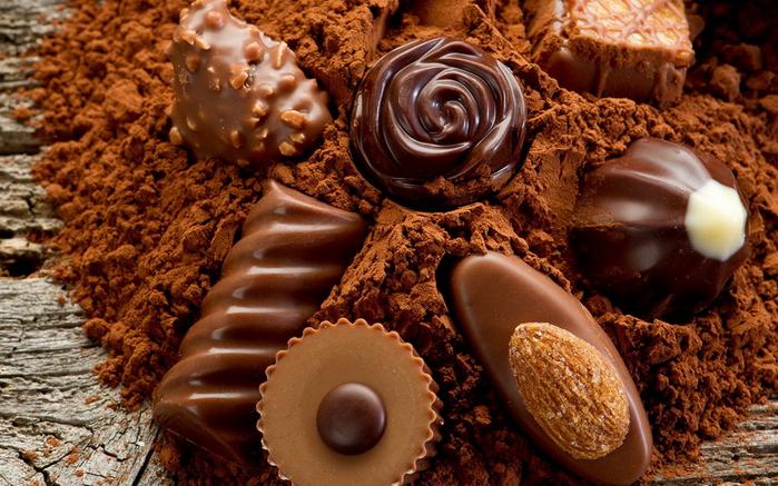 Мастер-класс Шоколадные конфеты ручной работы.