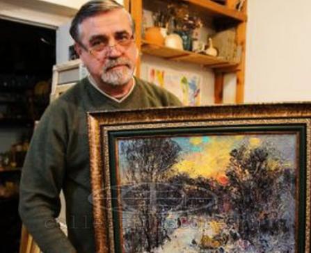 Выставка художника  В.В.Коробейникова.