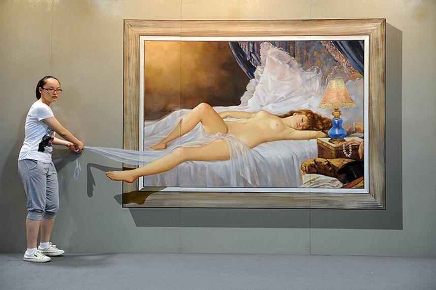 Выставка 3D-картин. Четвертый сезон