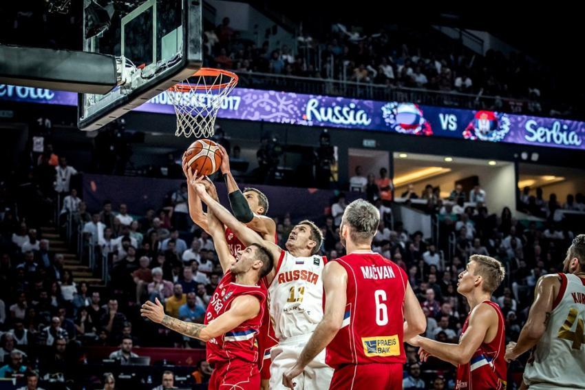 Отбор на кубок мира по баскетболу 2019 Сборная России-Сборная Бельгии