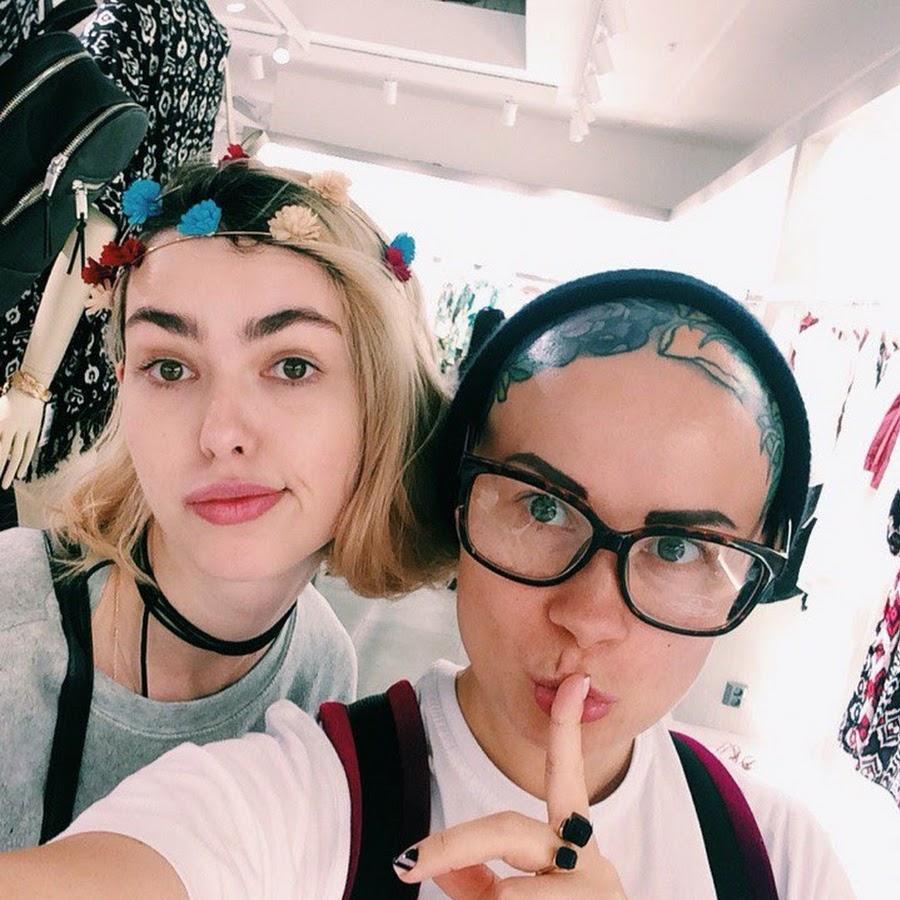 Мастер-класс стилиста и блогера из Санкт-Петербурга Катя Рок и Настя Струневская