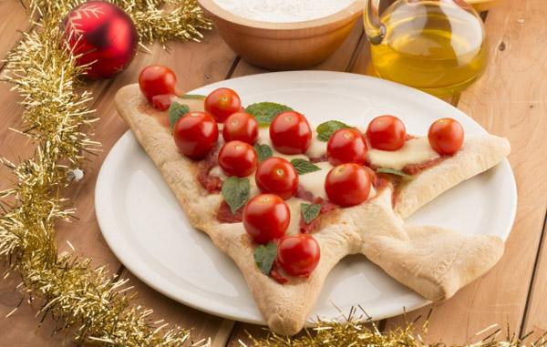 Мастер-класс Новогодняя пицца