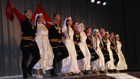 Новогодний концерт ансамбля Армянского народного танцаNew 2018 Year