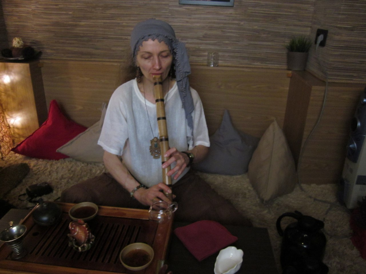 Чайная церемония на рассвете