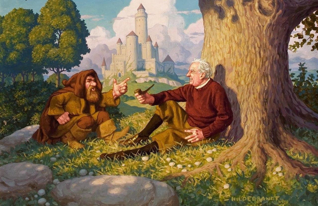 Заседания ФиЛина: Ofer middangeard monnum sended: почему Толкина называют «отцом фэнтези