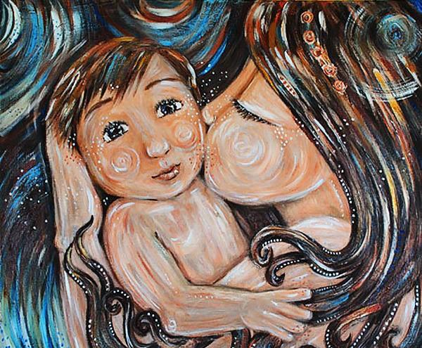 Арт — встреча Мама + ребенок