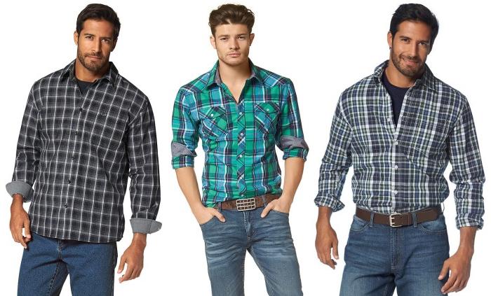 Мужские рубашки со скидкой 50%