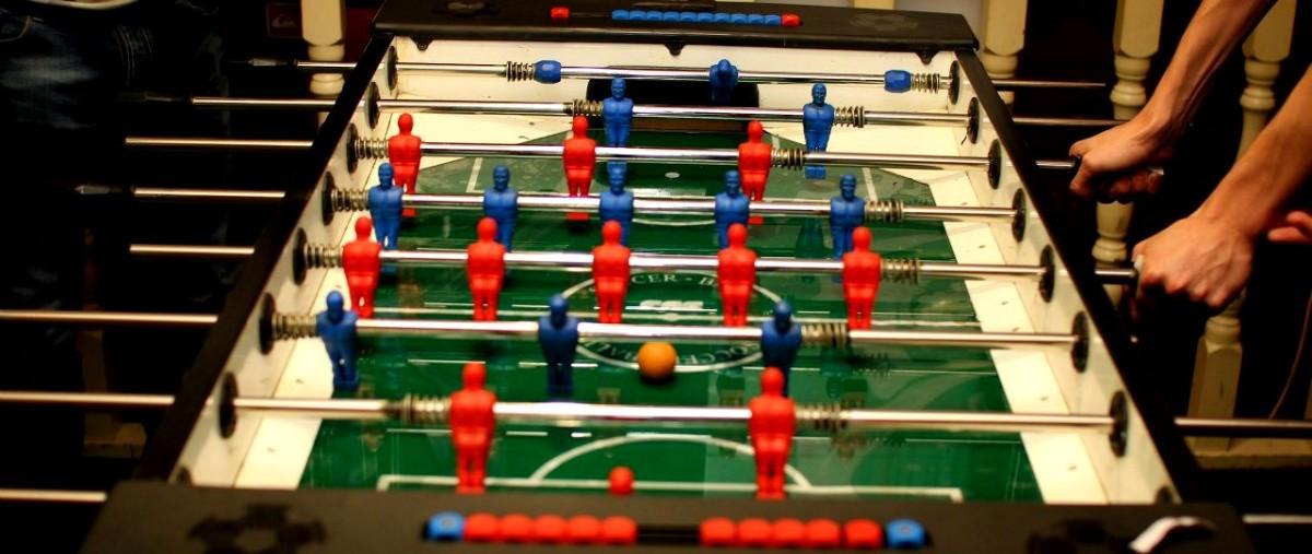 Любительский турнир по настольному футболу Мяч в Шкафу