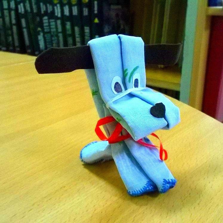 мастер-класс изготовление символа наступившего года-собачки