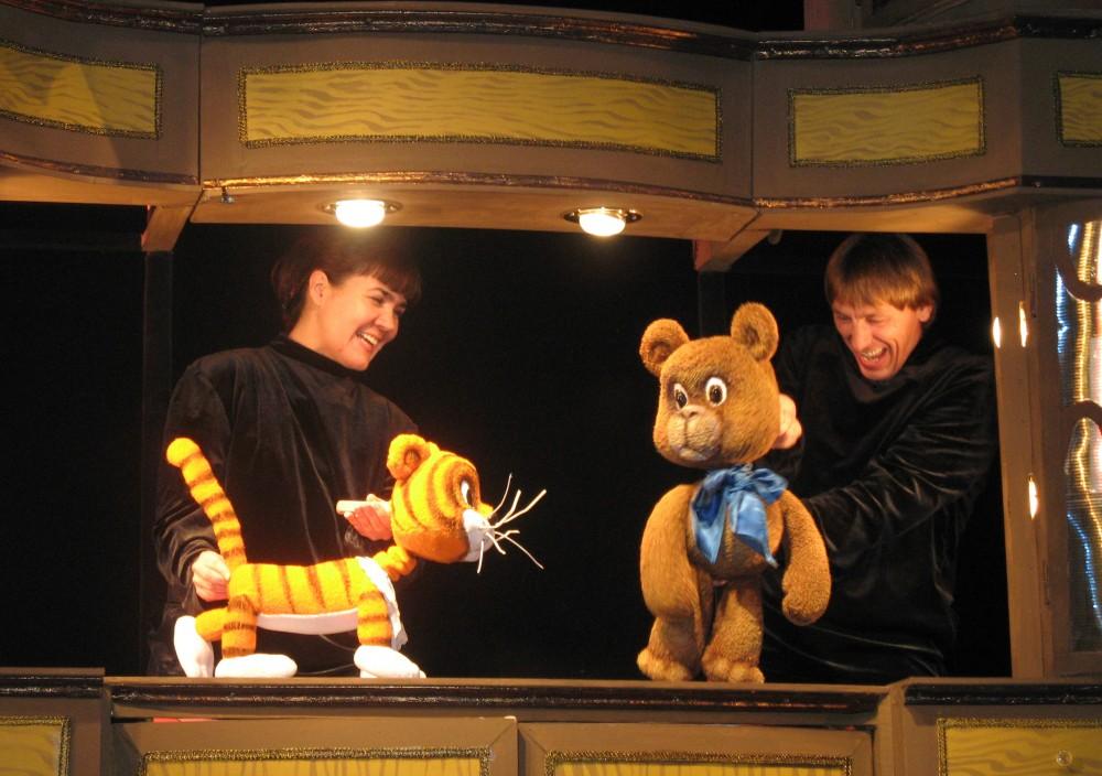 Кукольный спектакль Винни-Пух и все, все, все