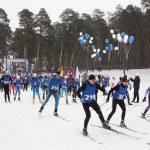 Суточный лыжный марафон среди сотрудников и жителей города