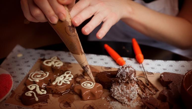 Шоколадный мастер класс фото