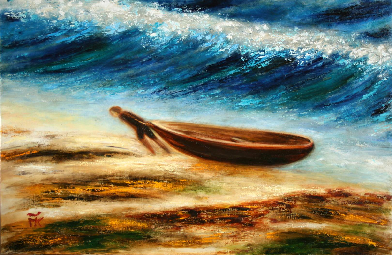 Выставка морских пейзажей Соль