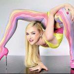 Резиновая Юля! Самая гибкая девушка в мире из России!