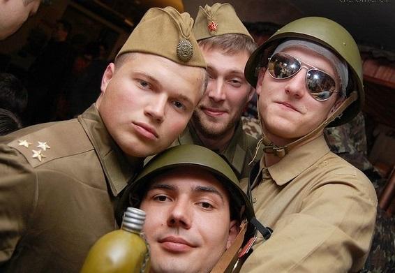 Вечеринка Я, солдат