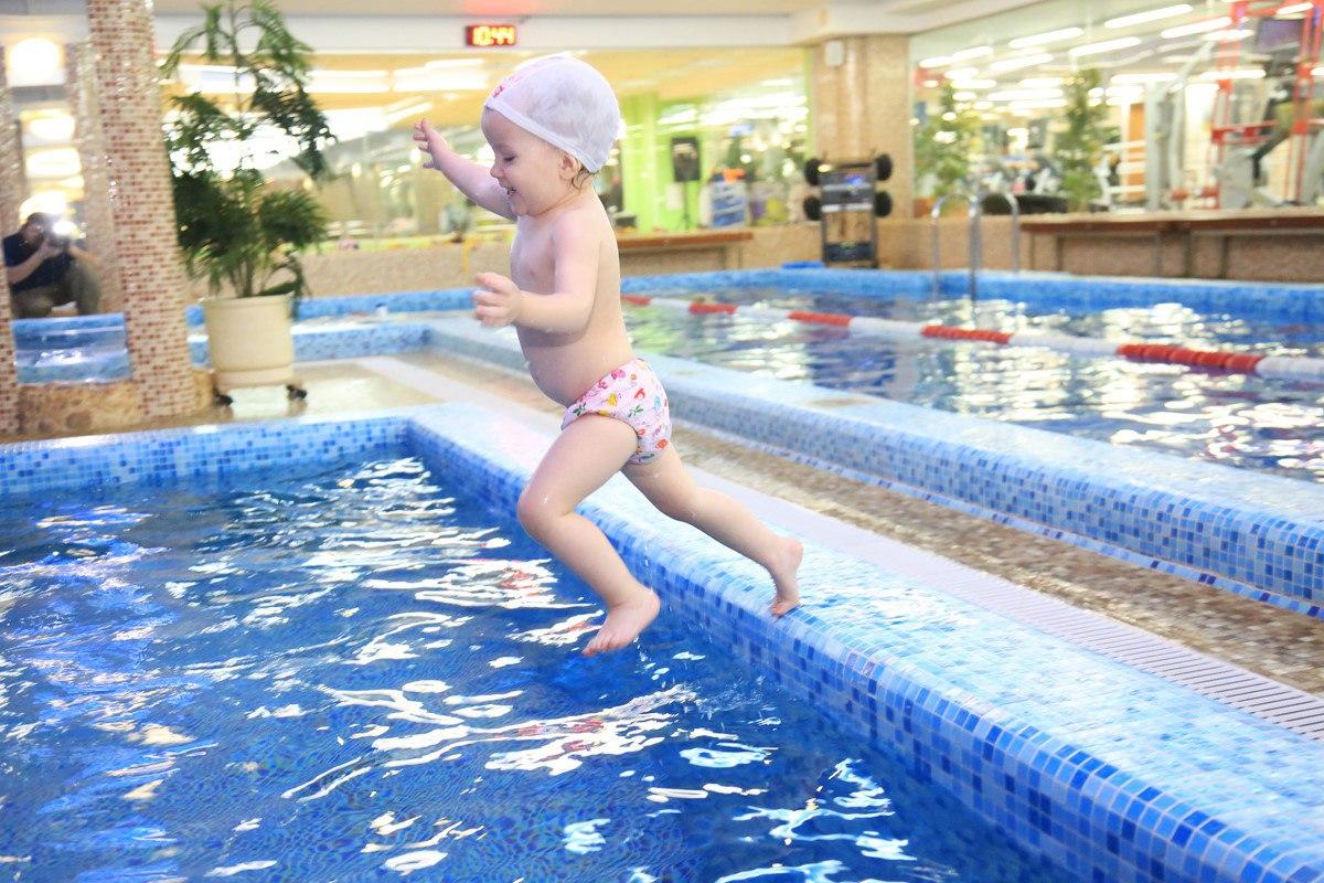 водный праздник для самых маленьких Baby Swim