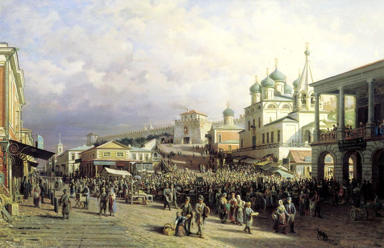 выставка графики Новгород Нижний–сосед Москве ближний