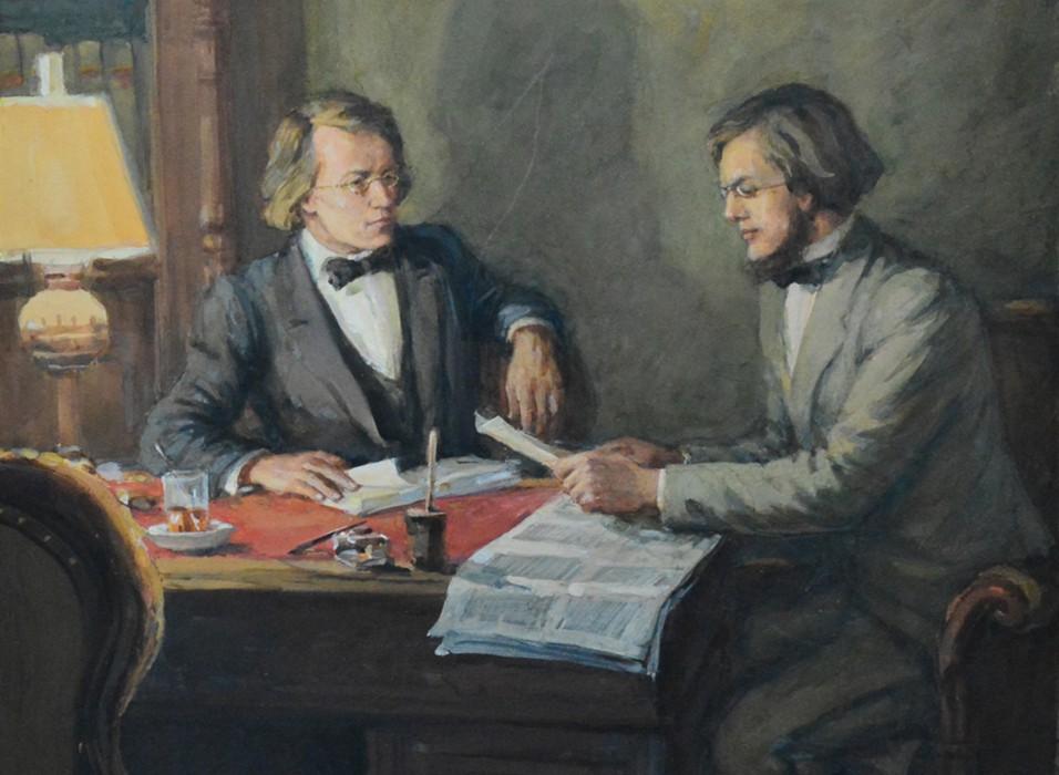 выставка Добролюбов и Чернышевский: Моё призвание к педагогическому званию