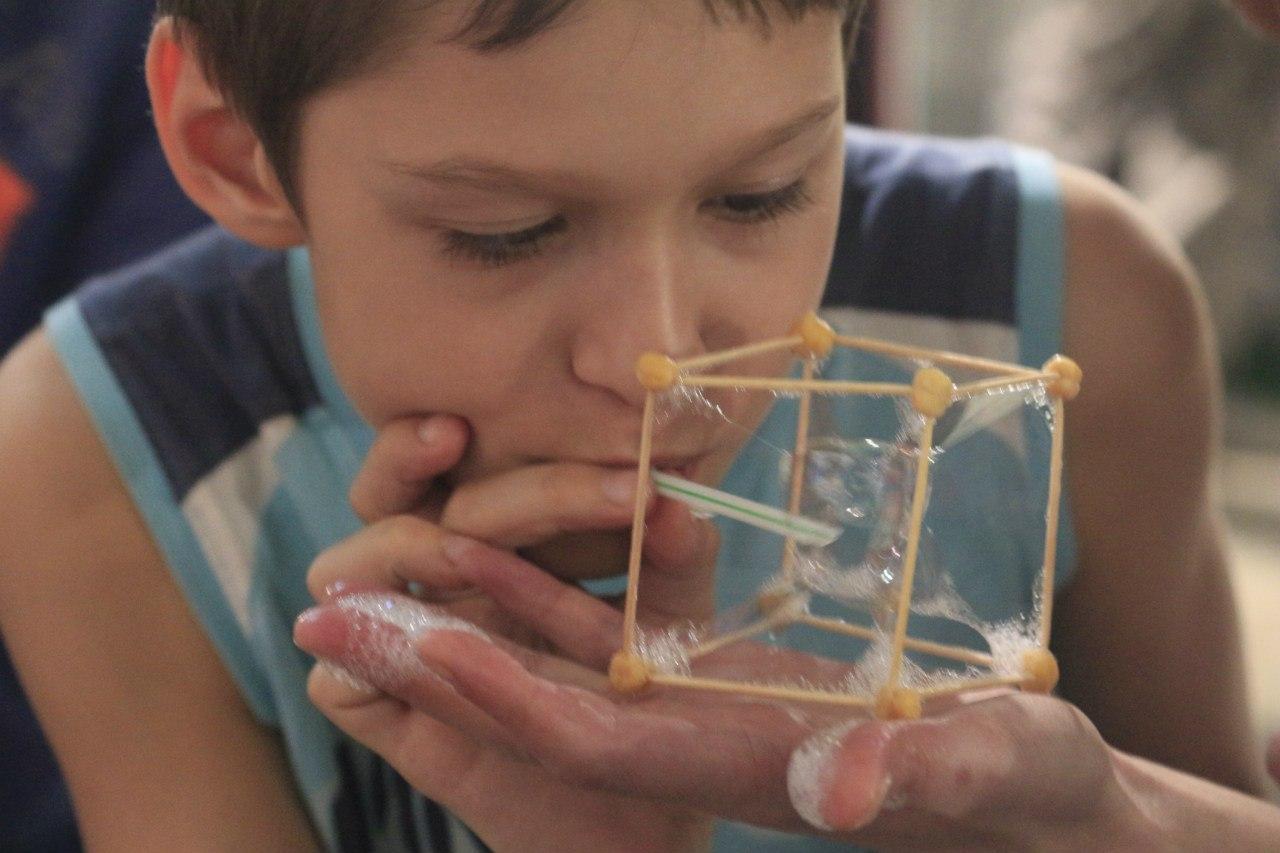 Воркшоп Мыльная 3 D-геометрия