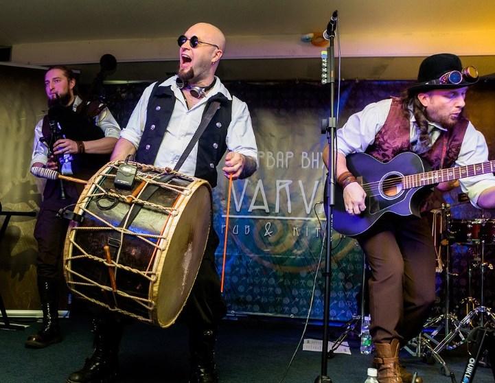 Концерт группы Melodic Medieval Bagpipe Folk