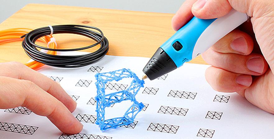 Мастер-класс Рисование 3 D-ручкой